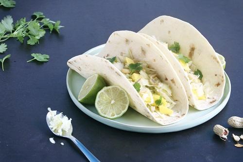 tortilla's met witte kool