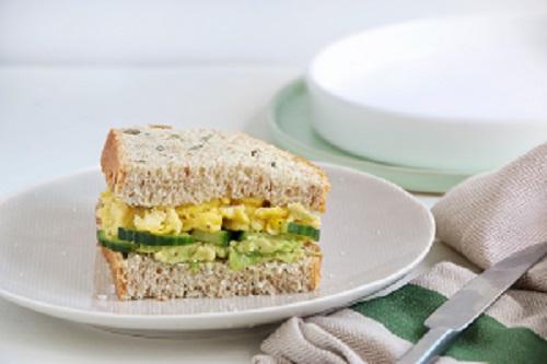 Komkommer-sandwich